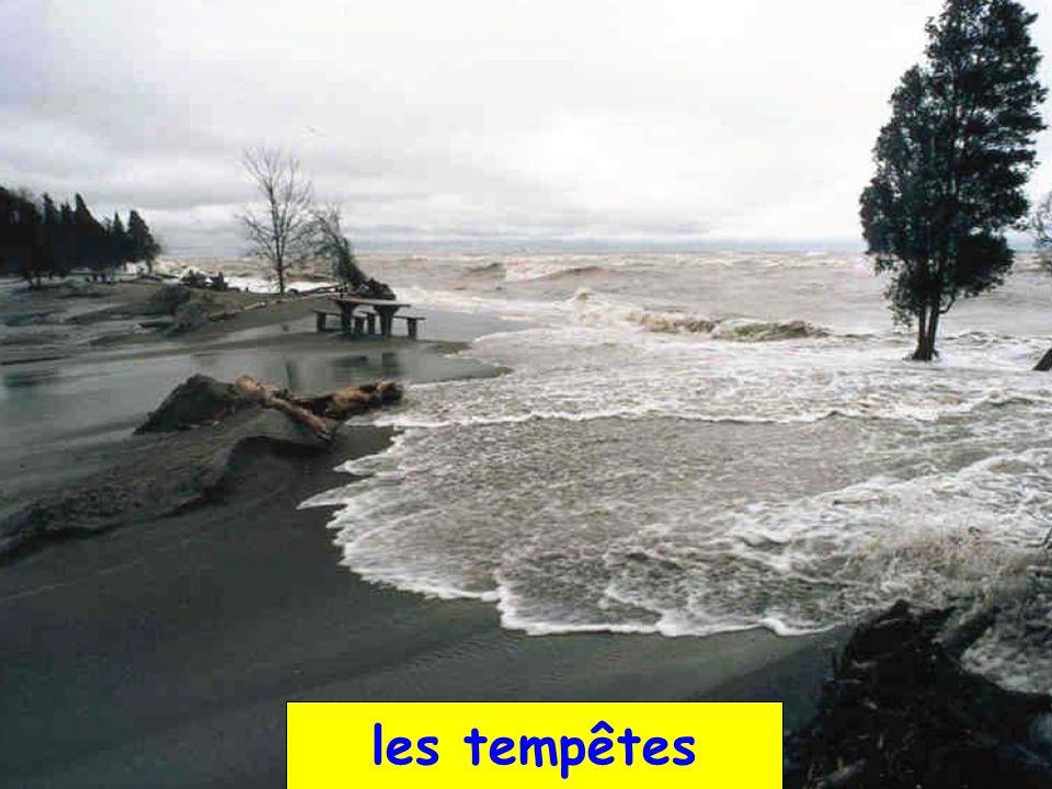les tempêtes