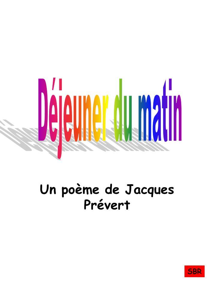 Un poème de Jacques Prévert SBR