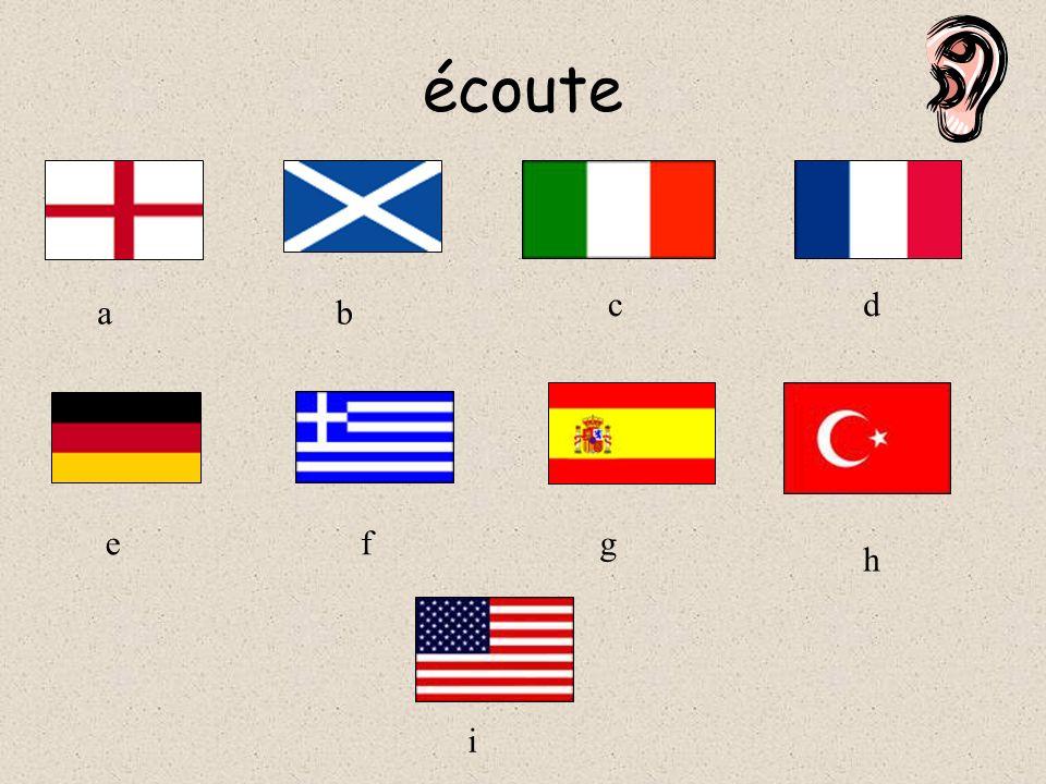 Lis Je suis allée en France Je suis allée en Angleterre Je suis allée en Irlande Je suis allée en Allemangne Je suis allée en Turquie Je suis allée en Espagne Je suis allée en Ecosse Je suis allée en Grèce Je suis allée aux États Unis 123456789123456789 abcdefghiabcdefghi