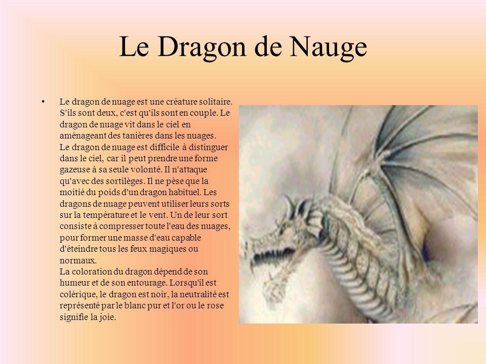 Les Dragons de Laiton Les dragons de laiton habitent dans des tanières souterraines proches d une grande masse d eau comme un lac ou l océan, mais ils s accommodent dans tous les climats.