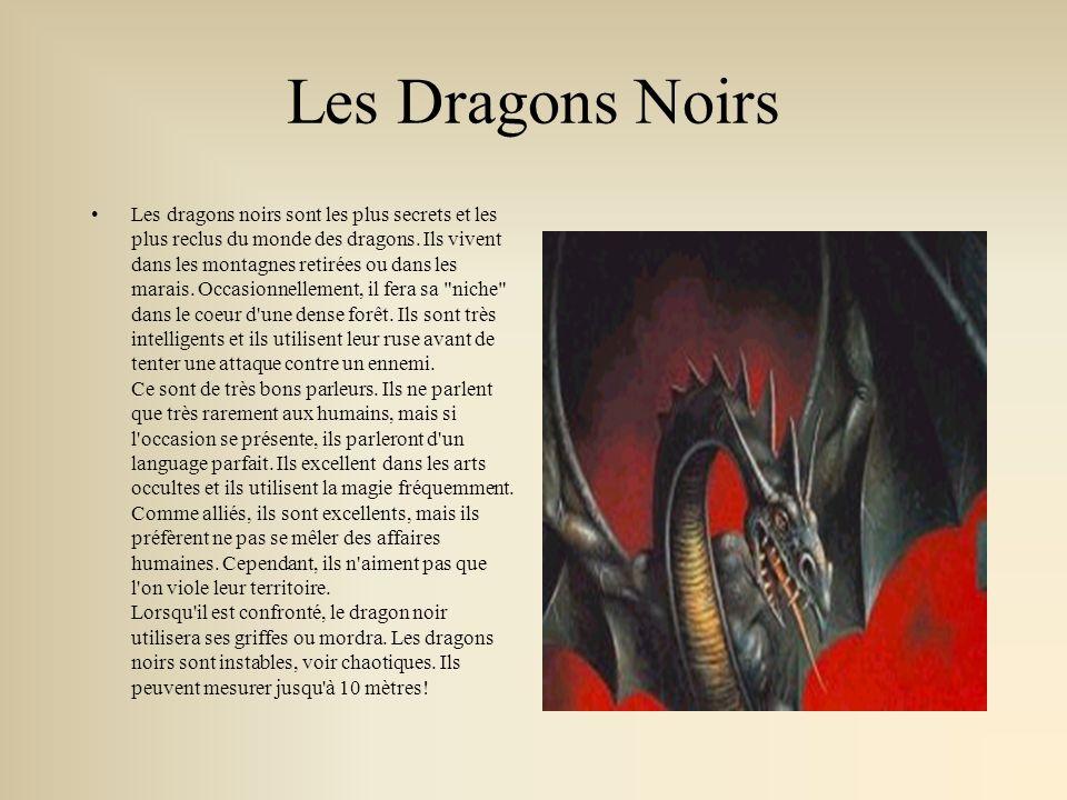 Le Dragon de Nauge Le dragon de nuage est une créature solitaire.