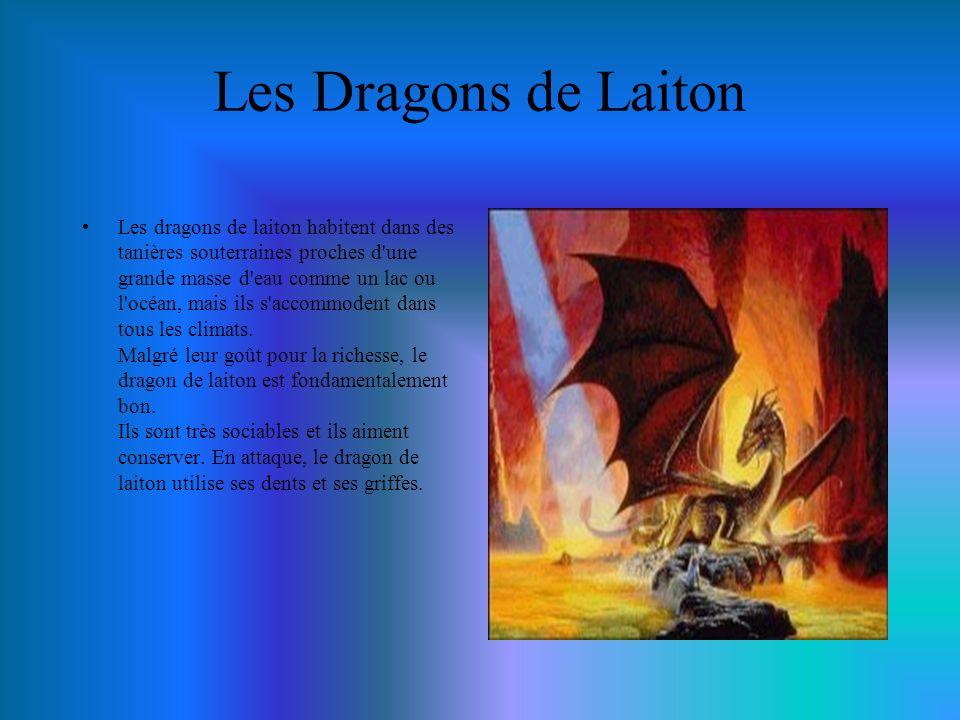 Les Dragons Féeriques Le dragon féerique est espiègle et malicieux.