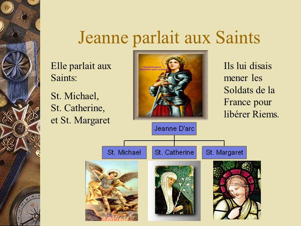 Jeanne parlait aux Saints Elle parlait aux Saints: St.