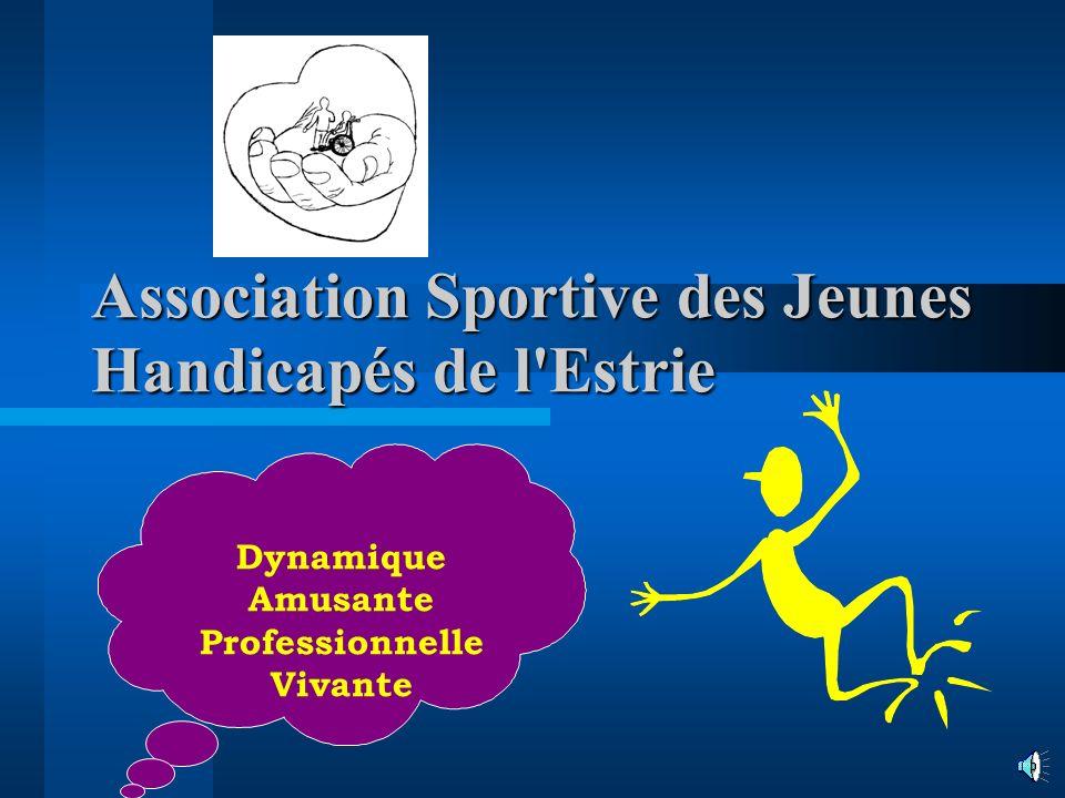 Association Sportive des Jeunes Handicapés de l Estrie Dynamique Amusante Professionnelle Vivante