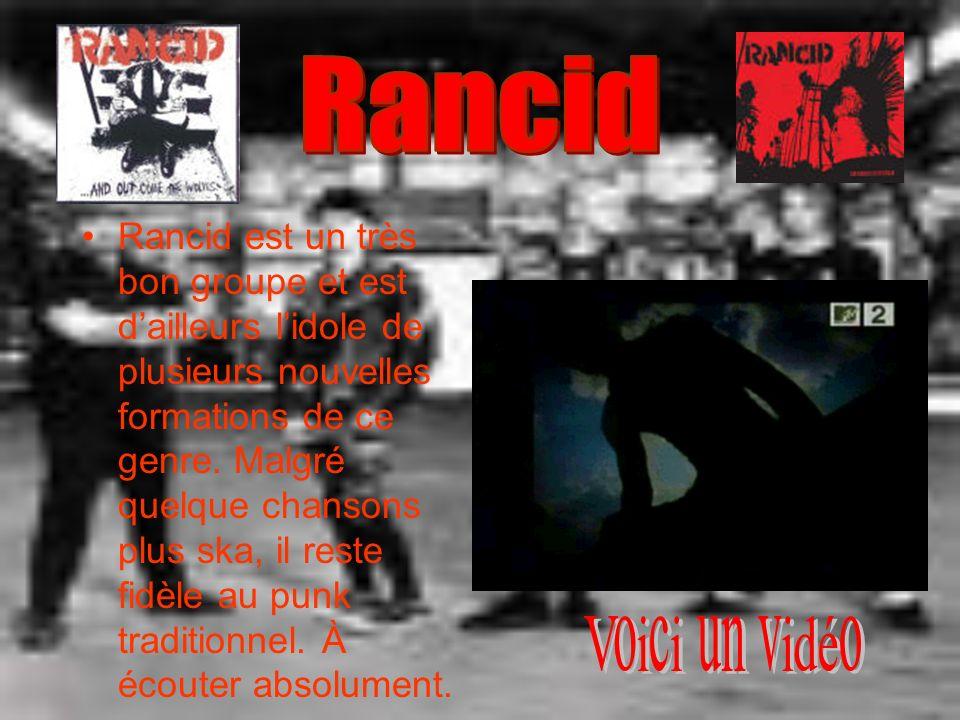 Rancid est un très bon groupe et est dailleurs lidole de plusieurs nouvelles formations de ce genre. Malgré quelque chansons plus ska, il reste fidèle