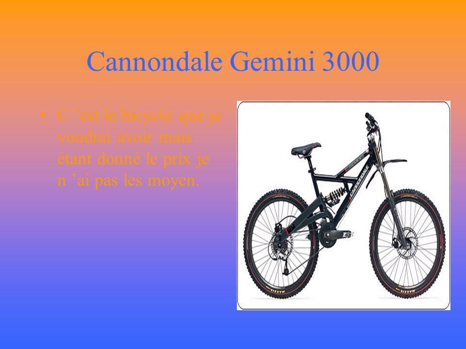 Ma première photo C est le bicycle que j ai en se moment depuis 2 mois.Un schwinn 3prostock c est un bicycle de dirt ou de jump de sable.