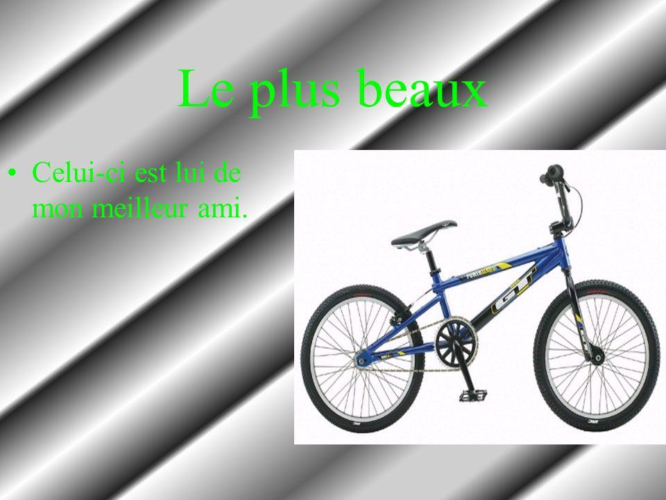 Mon vélo d enfance C est un tricycle:bicycle a trois roues.