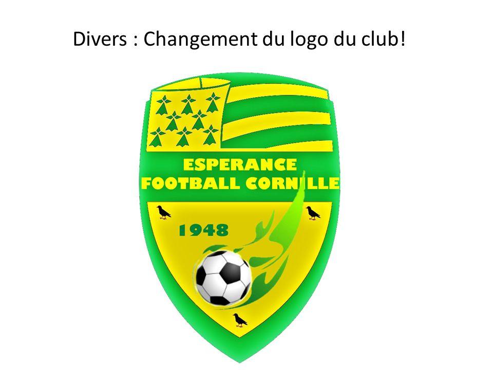 Divers : Changement du logo du club!