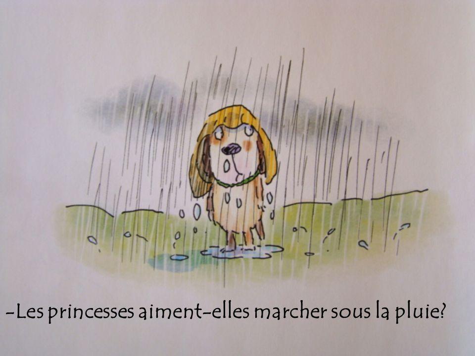 -Les princesses aiment-elles marcher sous la pluie?