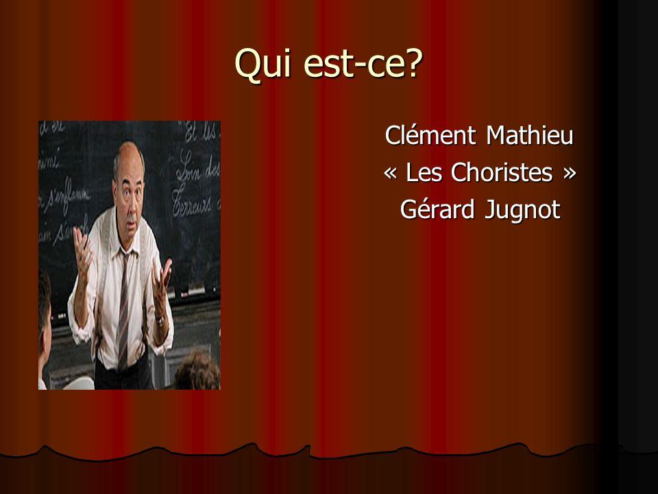 Pépinot « Les Choristes » Maxence Perrin