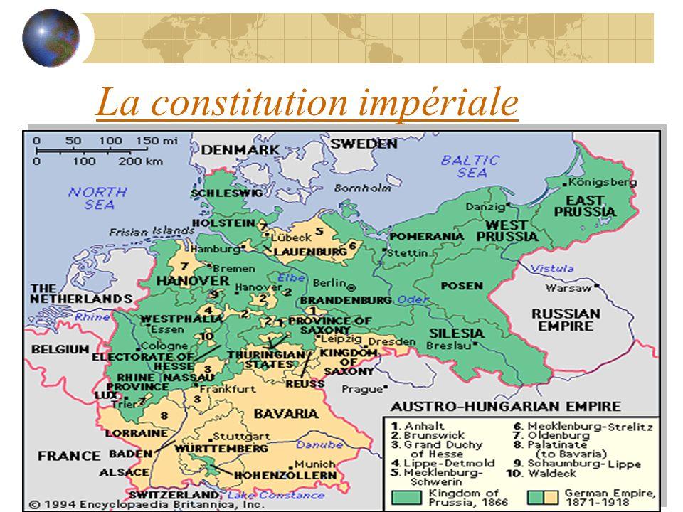 La constitution impériale
