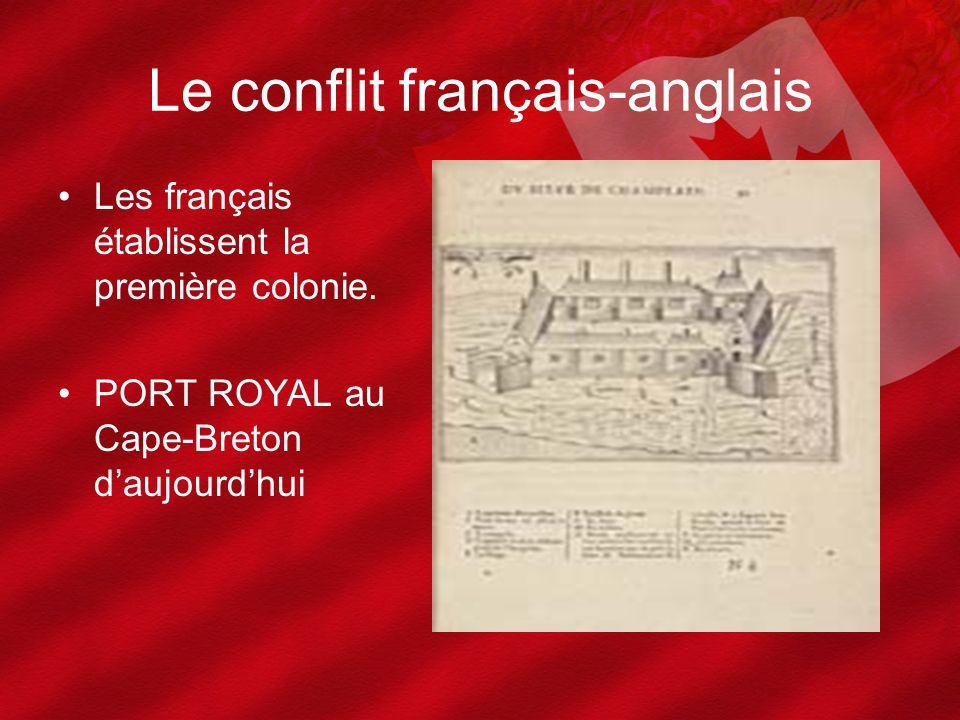 Les français établissent la première colonie. PORT ROYAL au Cape-Breton daujourdhui