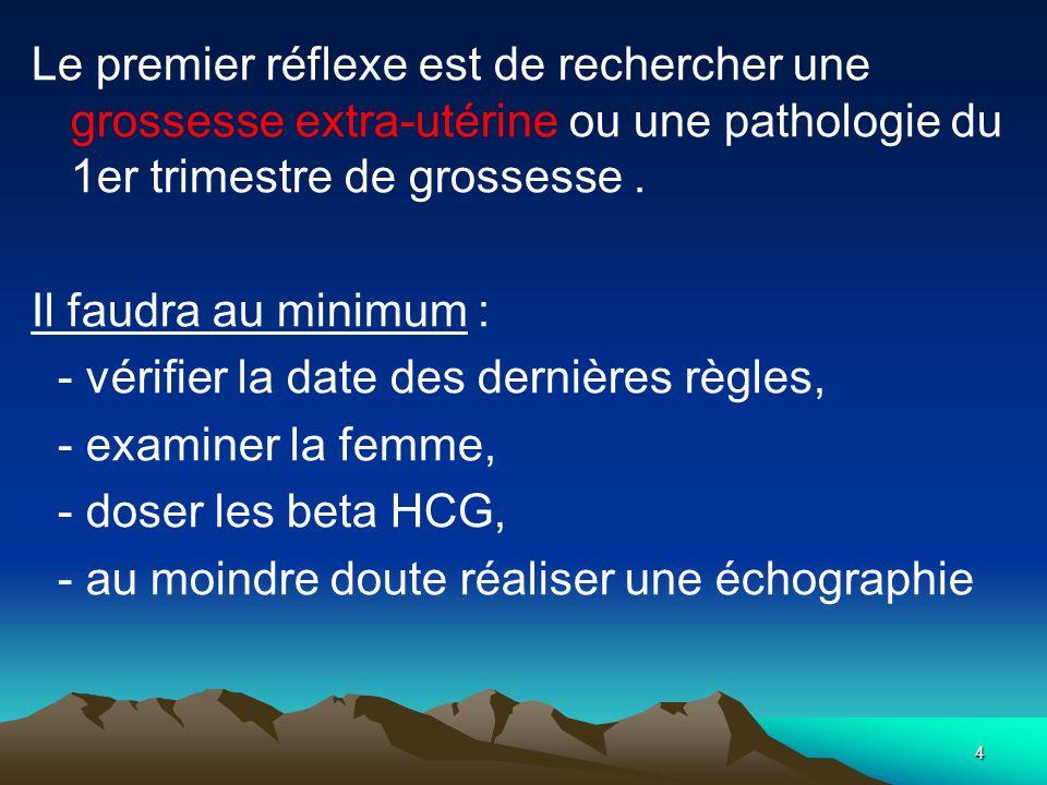 15 3.Les examens anatomo-pathologiques :.Le frottis cervical (dépistage).
