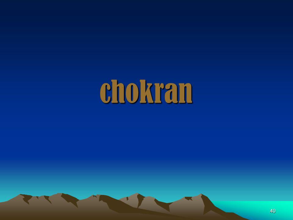 chokran 40