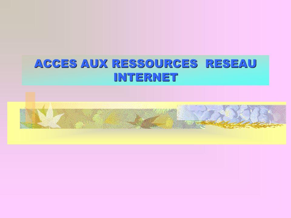 Accès aux ressources du réseau 12 ADRESSE IP (Internet Protocol) Comment fonctionne une adresse IP .
