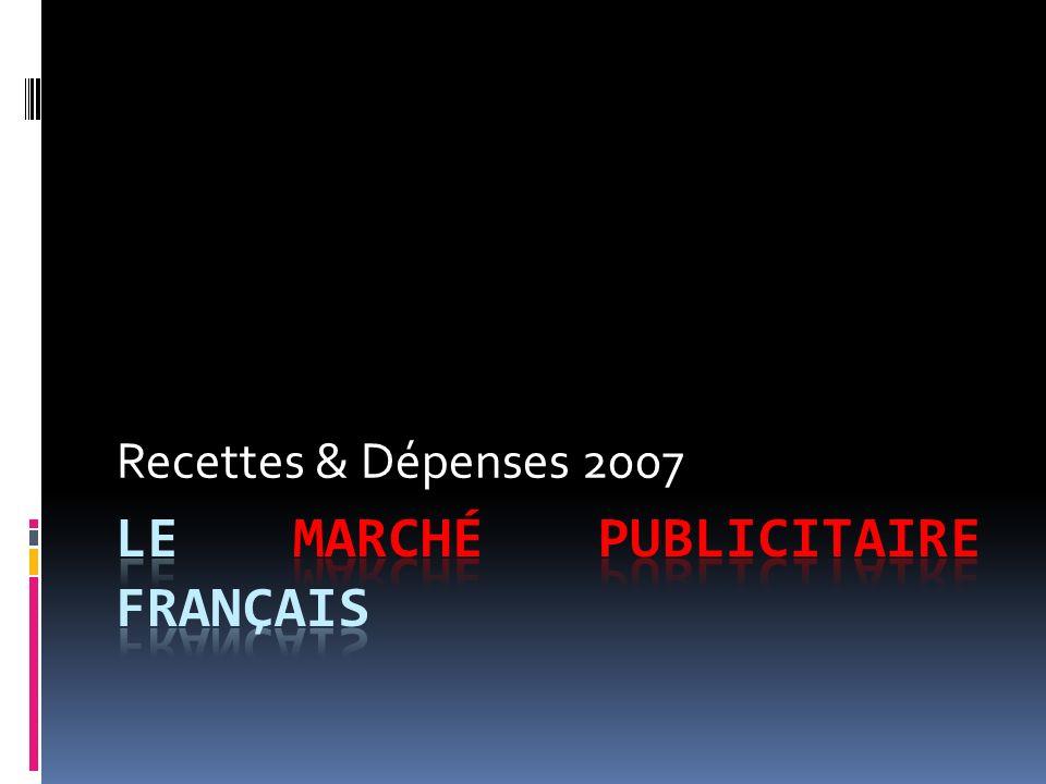 Recettes & Dépenses 2007