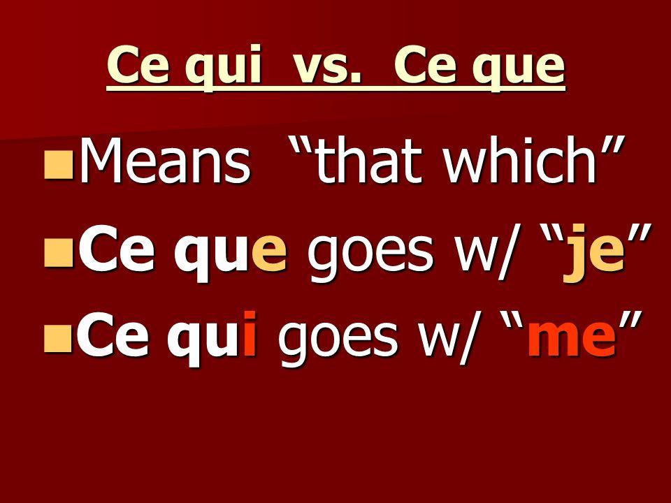 Lui et Leur Means to / for / etc.him / her / etc.