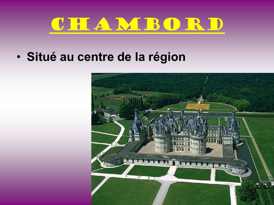 Chambord Construit par François I