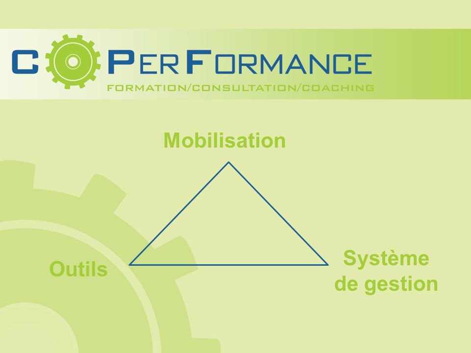 Mobilisation Outils Système de gestion