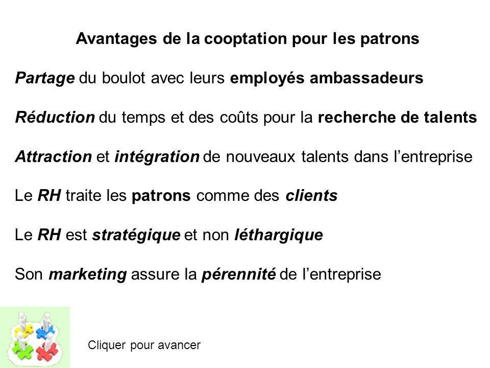 http://www.workyournetwork.jobs/francais.html Cliquer pour avancer