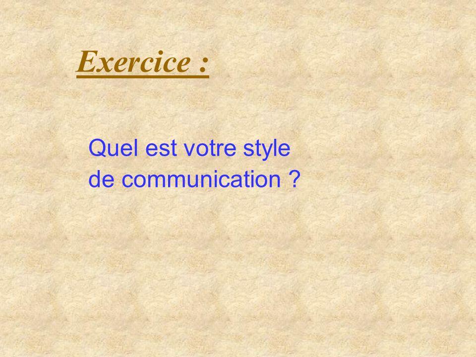 Discussion : Comment adapter son style de communication à celui des autres ?