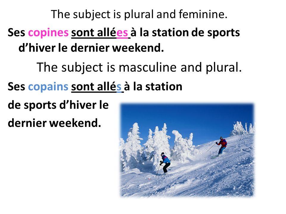 There is no agreement with a verb conjugated with avoir in the passé composé Elle a fait ses devoirs apr è s minuit!