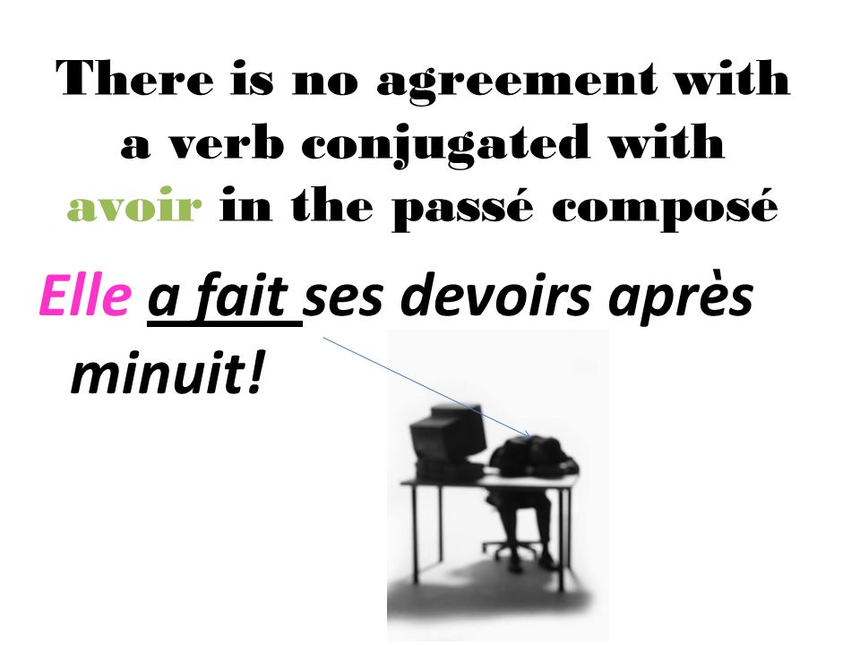 The past participle must agree with the subject in gender and number when être is used to make the passé composé.