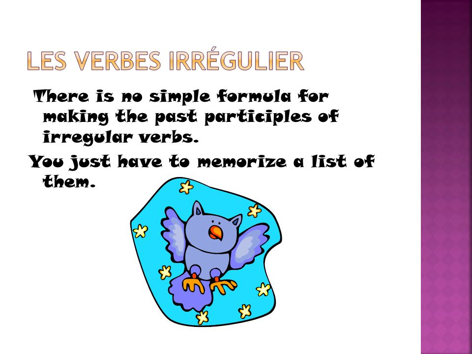 There is no simple formula for making the past participles of irregular verbs. You just have to memorize a list of them.
