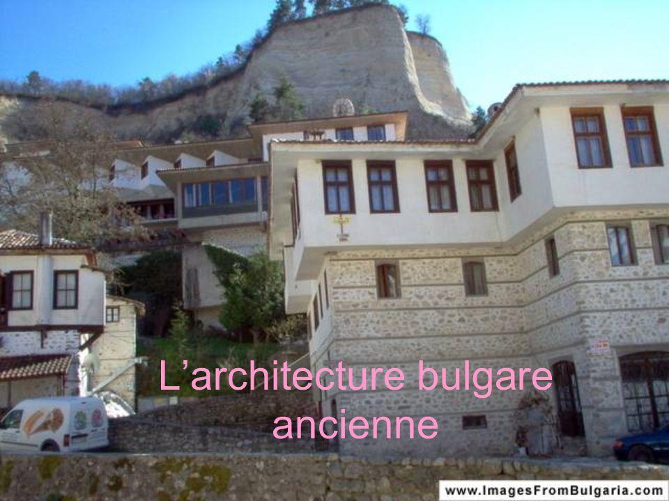 Larchitecture bulgare ancienne