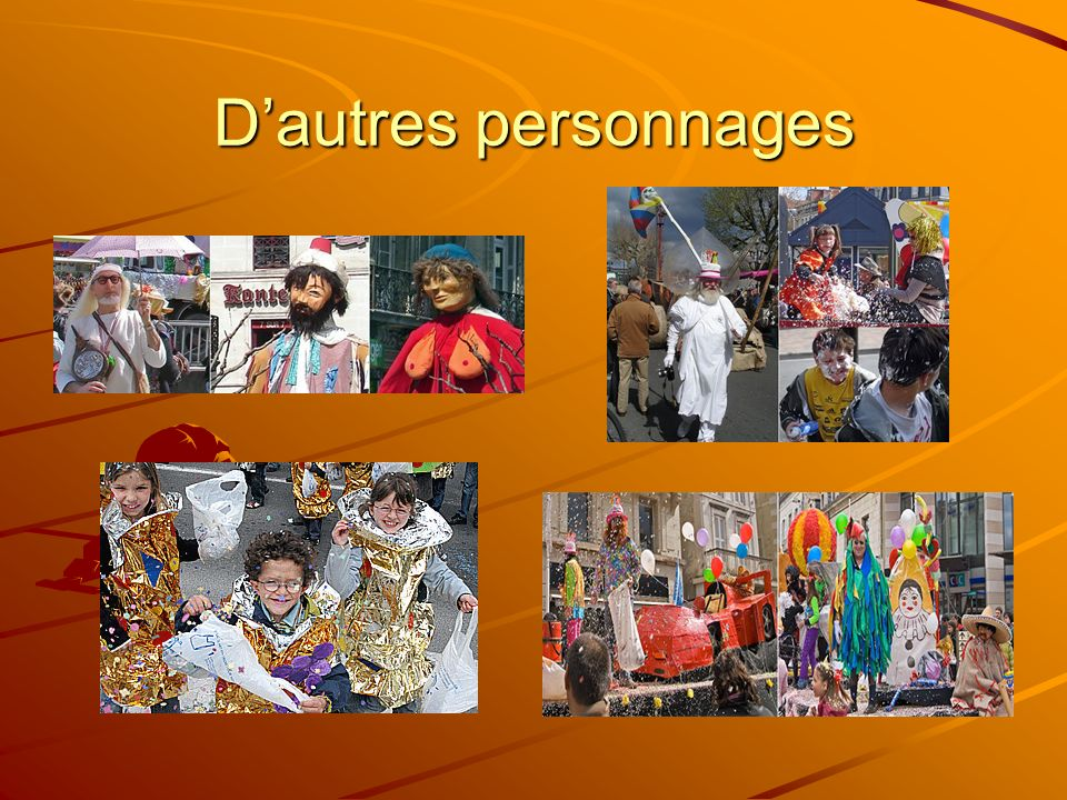 Dautres personnages