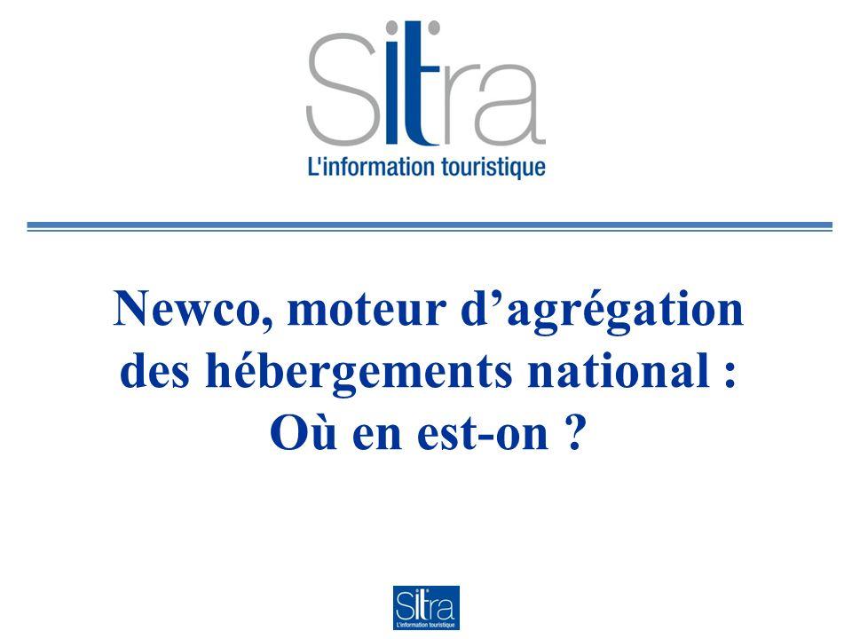 Newco, moteur dagrégation des hébergements national : Où en est-on
