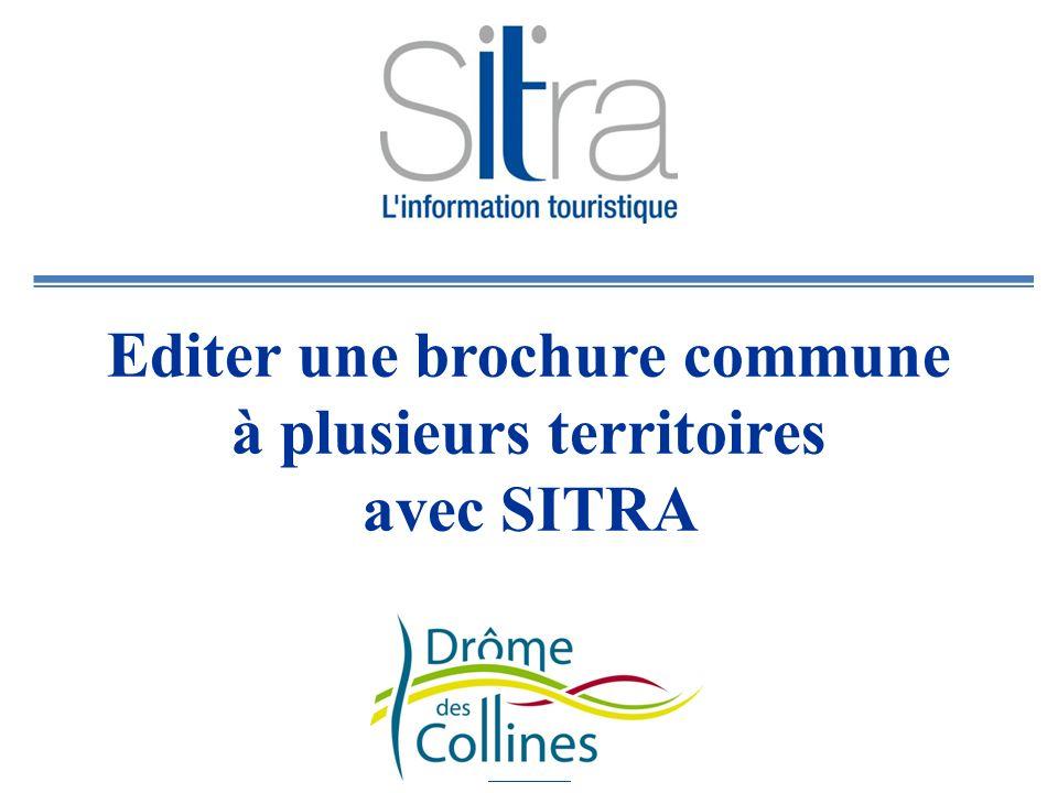 Editer une brochure commune à plusieurs territoires avec SITRA