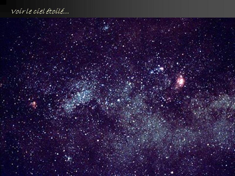 Voir le ciel étoilé…
