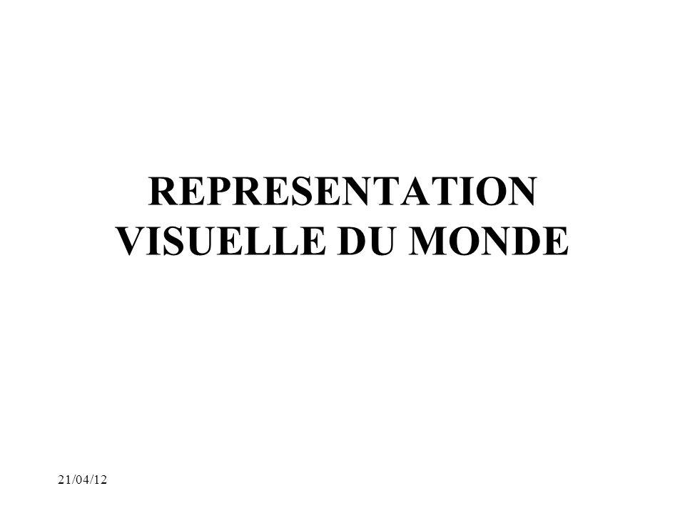 21/04/12 REPRESENTATION VISUELLE DU MONDE