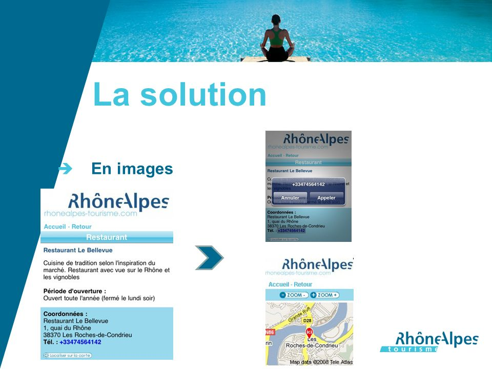 La solution En images