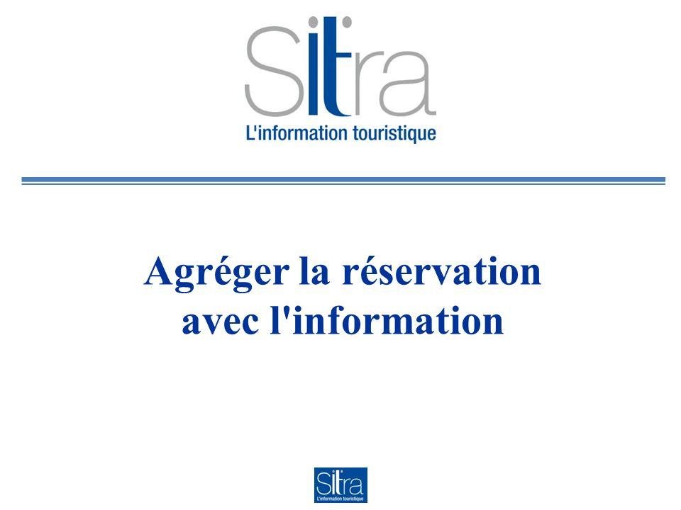 Vente en ligne hébergements Plateforme Centrale de Réservation : un champ Sitra gère la remontée du bouton « Réserver »