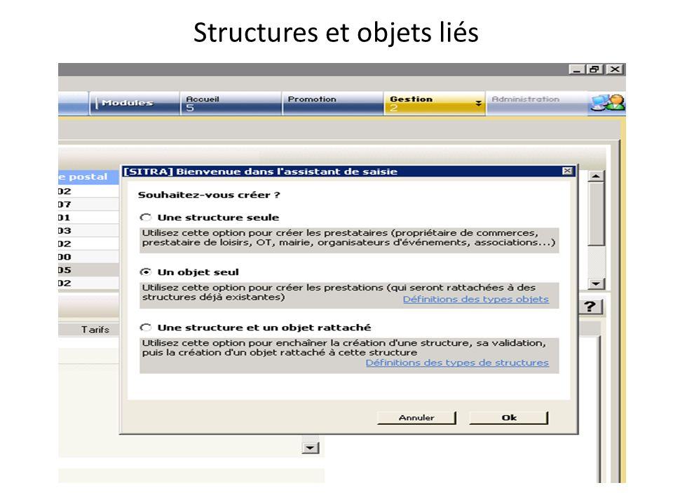 Corrections Modifier le type de lobjet Marquer / démarquer (affecter ou supprimer des critères sur plusieurs objets à la fois) Masquer