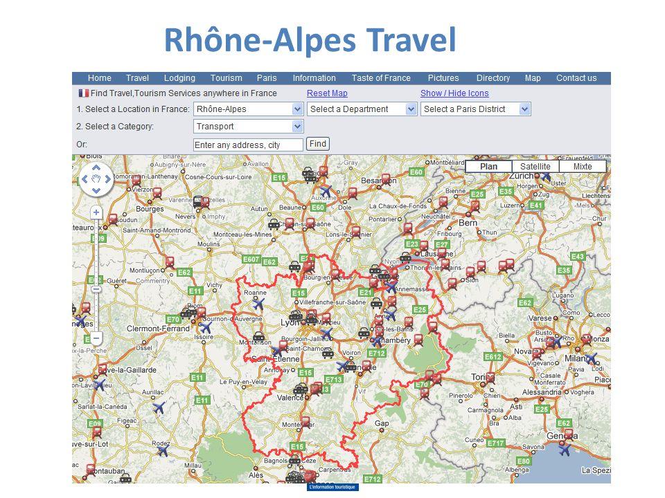 Rhône-Alpes Travel