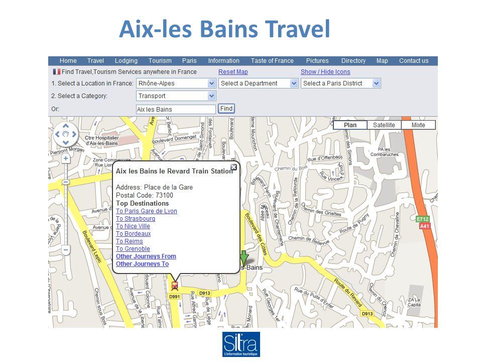 Aix-les Bains Travel
