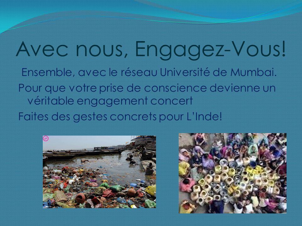Avec nous, Engagez-Vous. Ensemble, avec le réseau Université de Mumbai.
