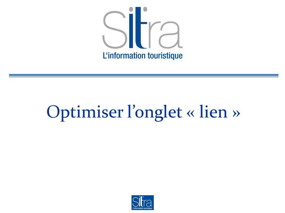 Optimiser longlet « lien »
