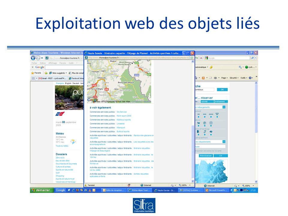 Exploitation web des objets liés
