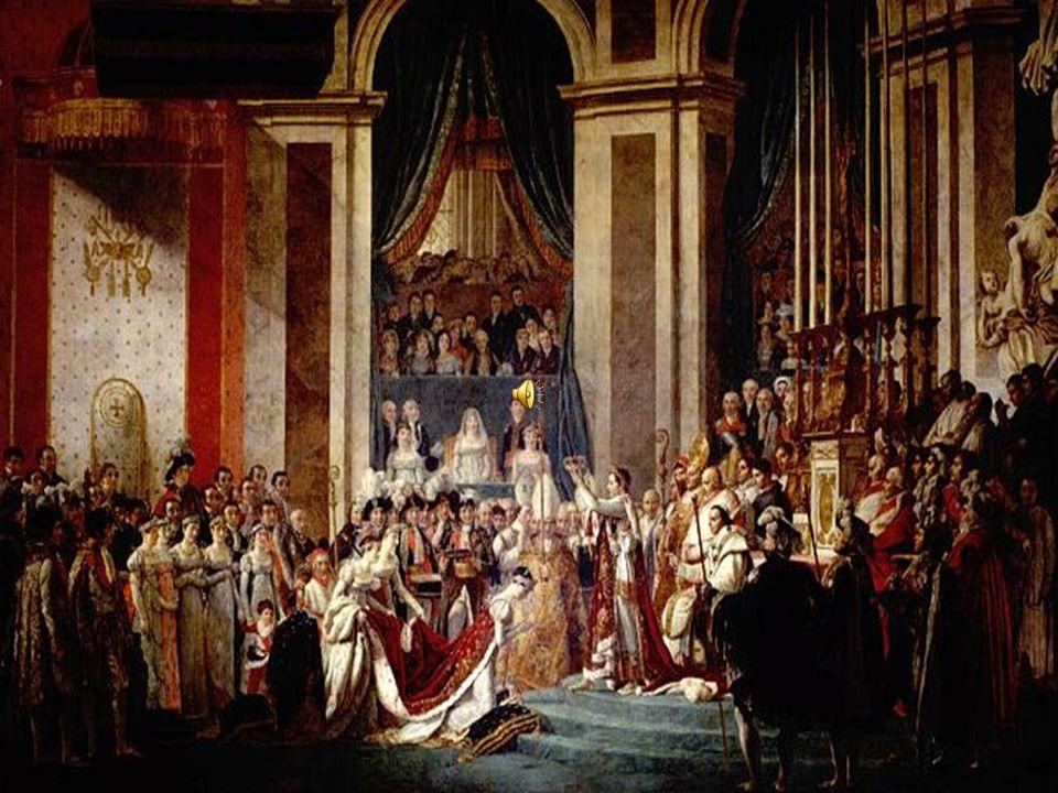 LEMPIRE En 1802 il se fait proclamer Consul à Vie et modifie la Constitution En 1804 il se fait proclamer EMPEREUR DES FRANCAIS.