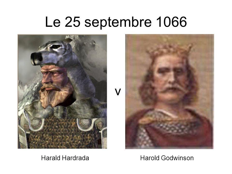 Le Roi Harold marche au nord de lAngleterre pour entrer au combat avec Harald Hardrada.