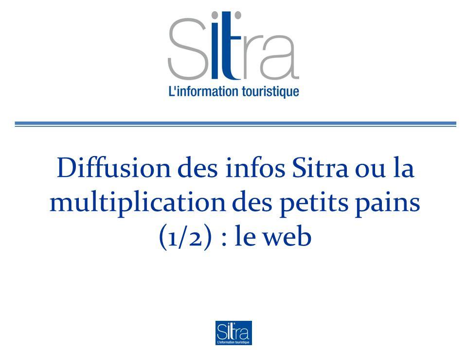 Diffusion des infos Sitra ou la multiplication des petits pains (1/2) : le web