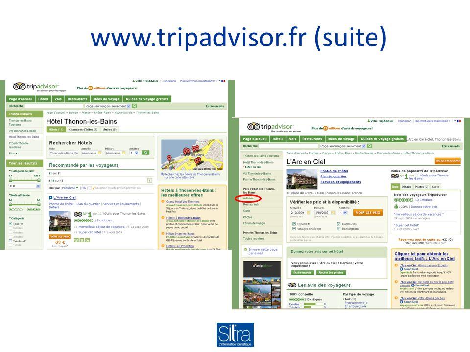 www.tripadvisor.fr (suite)