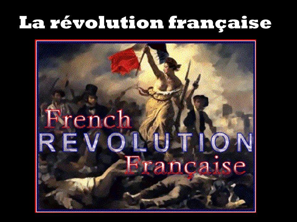 POURQUOI?POURQUOI.POURQUOI EST-CE QU IL Y AVAIT UNE REVOLUTION EN FRANCE EN 1789.