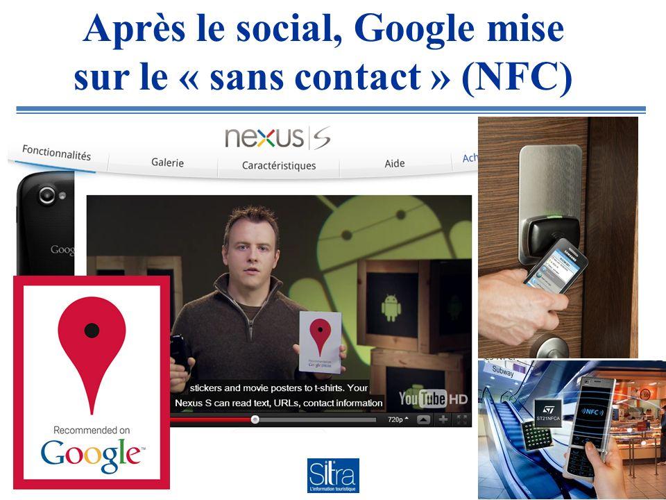 Après le social, Google mise sur le « sans contact » (NFC)