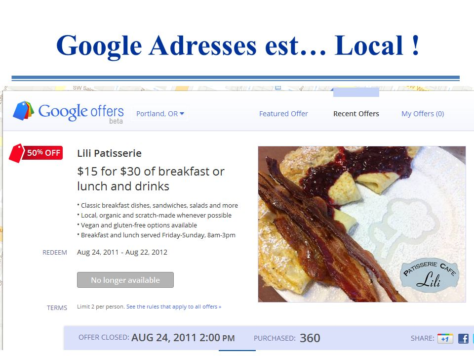 Google Adresses est… Local !