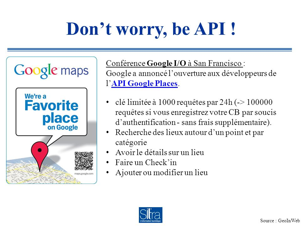 Dont worry, be API .